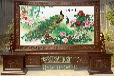 西安紅木屏風價格尺寸、仿古屏風生廠廠家、實木屏風定制圖片、古典屏風裝飾