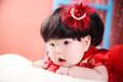 上海闵行老闵行附近宝宝艺术照百日照婴儿写真馆可免费上门拍照