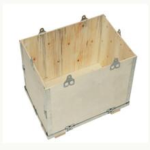 钢边箱直销钢带木箱加工定制