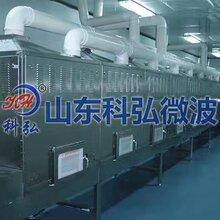 微波熟化机器生产线设计合理价格实惠就选山东科弘图片