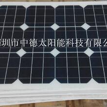 太阳能小型家用发电系统,太阳能滴胶板,中德太阳能电池板供应厂家18v200w