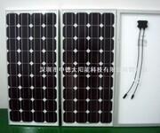 150W多晶电池板厂家,中德太阳能滴胶板生产商,太阳能家用发电系统图片