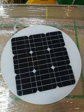 太阳能电池板圆形18v30w40w,用于太阳能路灯和树灯发电系统图片