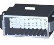 泰科D-2100线到板连接器壳体1-1318114-9图片
