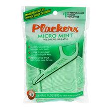 美国PLACKERS超细薄荷牙线棒