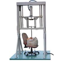椅子座面沖擊測試機餐椅結構強度試驗機椅子抗壓機圖片