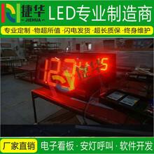 生产管理看板工业专用屏电子看板电子看板LED显示屏图片