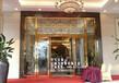 商场店铺店铺玫瑰金不锈钢玻璃门大门彩色钛金大门装修