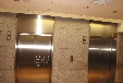 酒吧KTV会所镜面玫瑰金拉丝不锈钢电梯门套,黑钛金镜面门框等