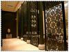 酒吧KTV拉丝黑钛金不锈钢金属屏风生产厂家