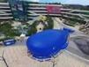 巨型蓝色鲸鱼岛海洋球出租鲸鱼肚子里的小世界