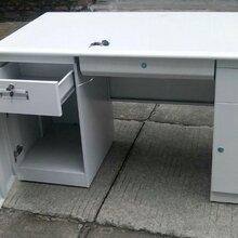 洛阳信通钢架办公桌电脑桌尺寸图片厂家直销办公桌电脑桌