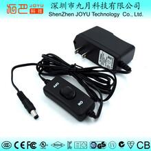 现货供应12V1A美规UI认证电源适配器图片