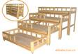 成都幼儿园家具厂家专业设计定做益阳幼儿园家具幼儿园推拉床DL-111