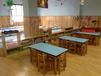 批发定做贵阳大林宝宝幼儿园课桌椅DL-213幼儿园实木家具