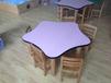 怀化幼儿园家具,幼儿园实木桌椅板凳定制