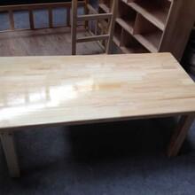请问遂宁的幼儿园实木桌椅哪里可以定做?来我们成都大林森,专业定做家具品牌图片
