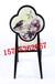 厂家供应新中式餐椅铁艺餐椅