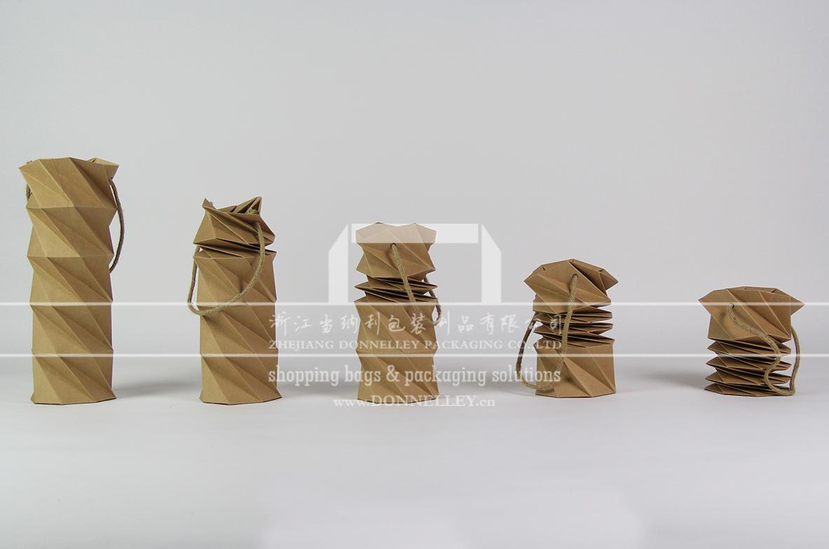 创意红酒包装袋,杭州红酒纸袋设计