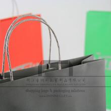 白牛皮纸袋、OFJ手提袋、电子产品手提袋、苹果手机包装袋