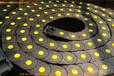 石家庄特价供应伸缩式高频热合尼龙塑料坦克链/穿线电缆拖链
