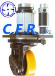 原装进口意大利CFR驱动轮AGV驱动轮/电动叉车配件/自动化行走方案