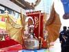 上海大型娱乐设备厂家巡游花车展览租赁