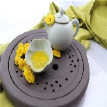 修水金丝皇菊菊花茶,一朵一杯菊花茶图片
