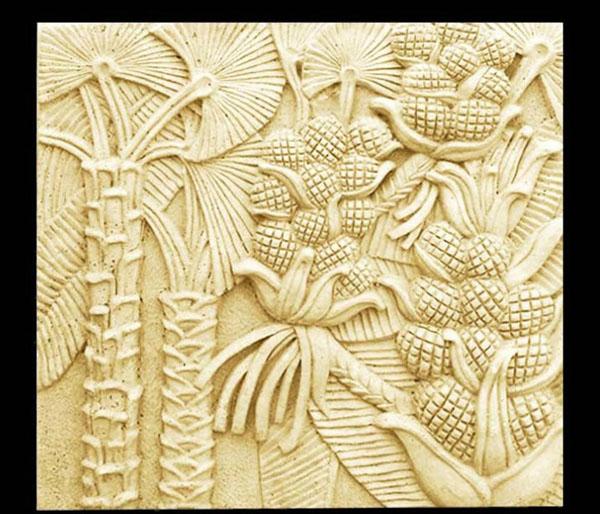 欧式砂岩浮雕背景墙价格图片