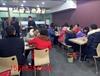 丰产路关虎屯美食街,国贸中心对面,附近人唯一吃饭地