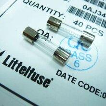 美国力特玻璃管保险丝217系列520MMF5A6.3A10A15A250V无引线