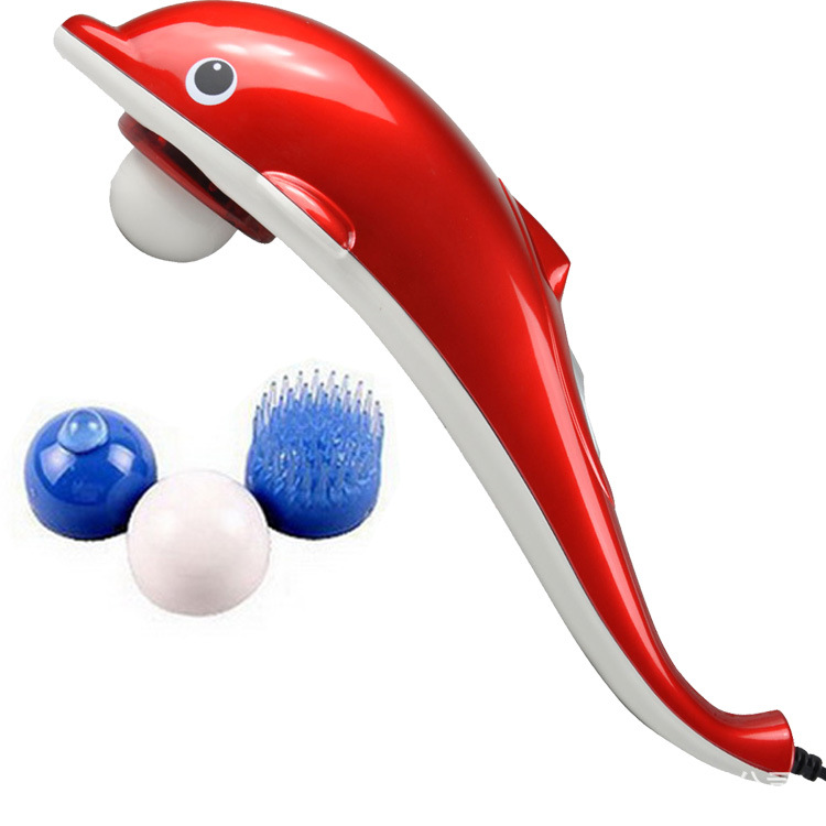 远红外海豚按摩器(中文)老年人礼品按摩棒按摩锤璐瑶LY-606B-2