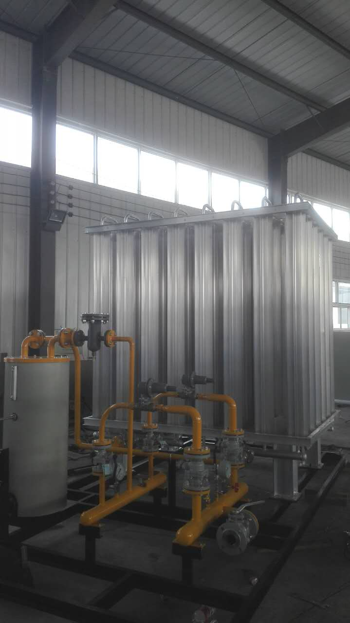 河北弘创牌LNG撬装气化站设备LNG气化调压撬