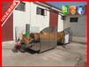 标准型豆腐泡油炸机燃气油炸锅产量炸豆腐油炸设备(希源牌)