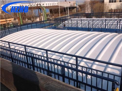 江苏污水池 加盖 玻璃钢污水池 加盖 污水除臭厂