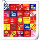 避孕套袋装金币巧克力整套包装无纺布湿纸巾方形袋创意商务小礼品定做