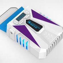 越来越酷冰魔5笔记本抽风式散热器USB带屏抽风机14寸15.6寸排风扇图片