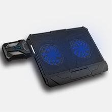 厂家直销笔记本散热器新款冰享3越来越酷立体式抽风底座散热支架图片