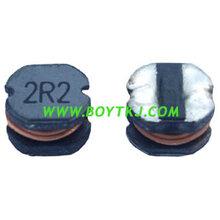供应深圳BYT牌贴片功率电感BTCD54-220M非屏蔽电感绕线电感出口环保电感图片