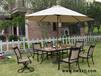 铸铝桌椅五件套,阳台铁艺桌椅,室外欧式庭院露台桌椅