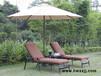 室内泳池家具,海边游泳池休闲沙滩椅,午休沙发床铸铝躺椅
