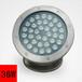 山西太原七彩LED水底灯双重防水优质硅胶灵创照明
