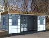 杭州移動廁所租賃廠家生產+配送+安裝服務一低價