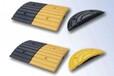 厂家直销广州小区菱形橡胶减速带北京茂名停车场橡胶减速带安装
