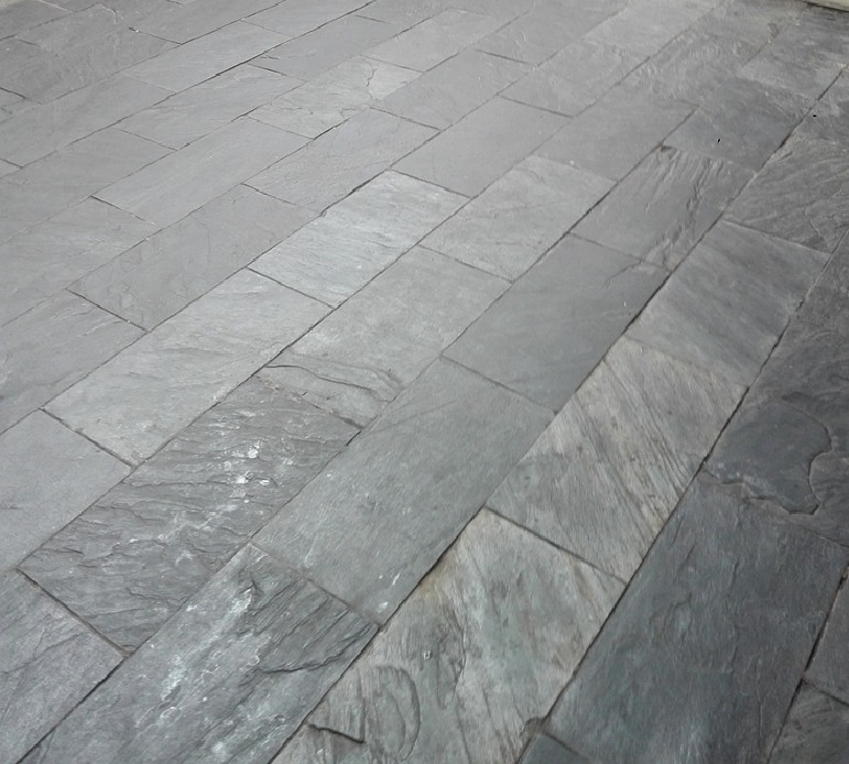 江西黑板岩青石板室内文化石广场庭院地面石材青石板