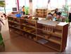 贵州幼儿园家具实木单层床定做