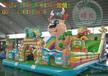 腾龙厂家直销:充气城堡充气滑梯加网加厚pvc环保材料