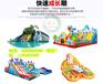 新疆昌吉儿童游乐设备充气城堡充气滑梯水滑梯暑期经营赚钱好项目