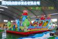 和田大型充气玩具pvc充气滑梯腾龙产品引领市场