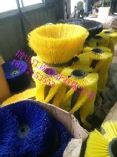 环保环卫毛刷,耐磨尼龙丝钢丝路刷,环卫刷扫雪刷-江南
